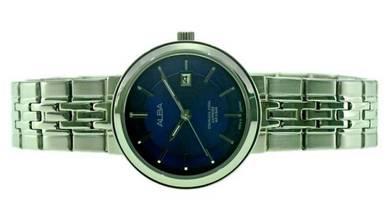Alba Ladies Sapphire Date Watch VJ22-X254BLSS