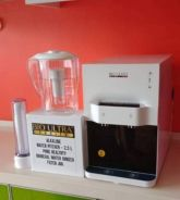 Penapis air Qierra water filter pitcher ionizer Q4
