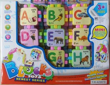 Educational Kids Toys Fun ABC Building Blocks