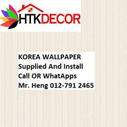 PVC Vinyl Wall paper with Expert Install H629w
