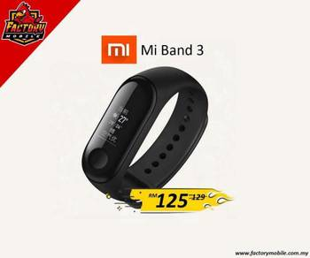 New Xiaomi mi band 3 Smart watches original set
