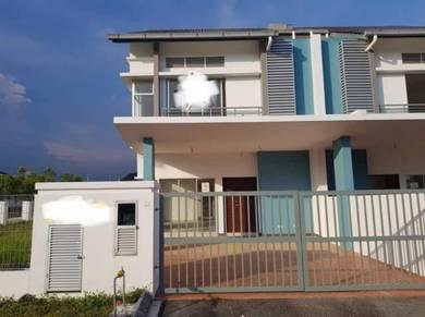 Full Loan Corner Cluster Double Storey at Nusantara Prima,