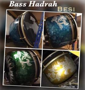 Bass Hadrah : Bercorak