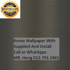 Korea Wall paper with installation 79SX3