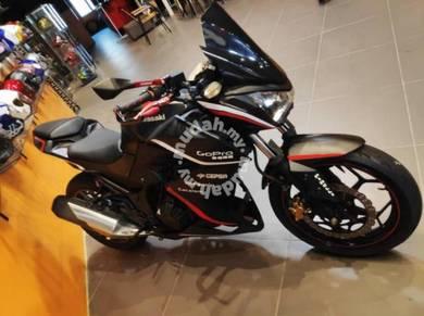 Kawasaki Z250 black Raven z 250 ninja 250r PROMO