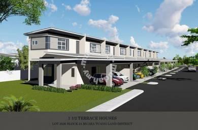 NEW 1.5 Storey Terrace at Stakan Dahlia along Jalan Stakan