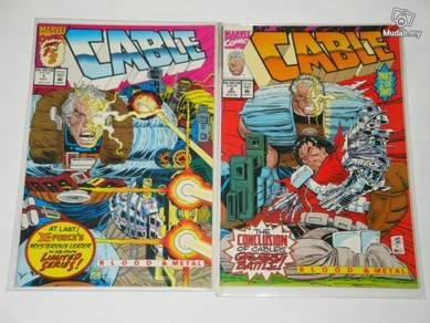 CABLE. Blood and Metal. 1992 miniseries. complete