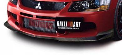 Ralliart Lip Carbon Fiber Lancer Evolution 9 evo