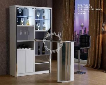 Glass Bar Counter With Lighting