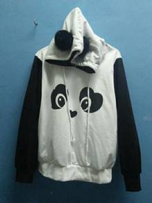Cute Panda hoodies sweater hood