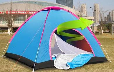 3-4 person automatic picnic pop up camping tent