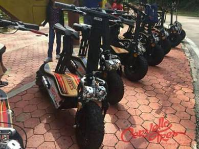 Scooter bike new set merdeka offer