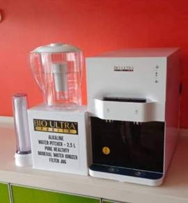 Penapis air Qierra Ionizer Water Filter Pitcher W4