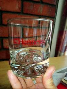 Vintage Hennessey Cognac Tumbler Glass