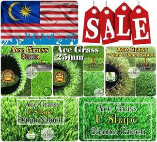 MERDEKA SALE Artificial Grass / Rumput Tiruan 05