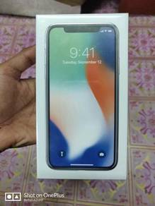 Iphone x 256gb new myset