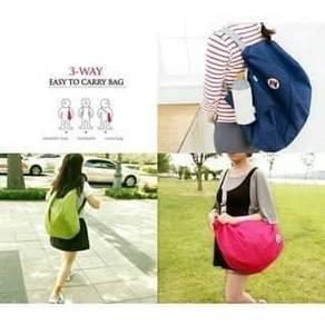 3 way Foldable Gym Travel Sport Backpack Bag