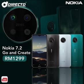 NOKIA 7.2 (6/128GB | 3 Kamera BLKG ZEISS)BARU 2019
