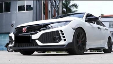 Honda Civic Fc Type R FK8 fullset bodykit
