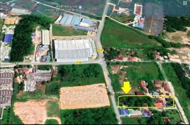FIRST Grade Land Facing Main Road Simpang Ampat Tasek