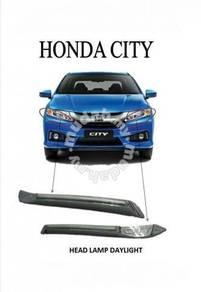 Honda city gm6 head lamp drl led daylight