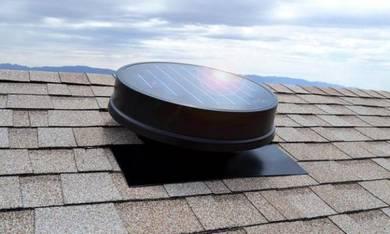 F014 FA-US Solar Attic Ventilator