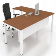 5x5ft Modern L Shape Table Desk OFMN1515L Sunway