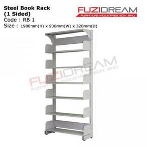Steel book rack / rak besi untuk buku