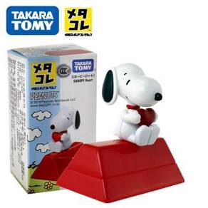 Takara Tomy Snoopy Love Heart Red House Toy Figure