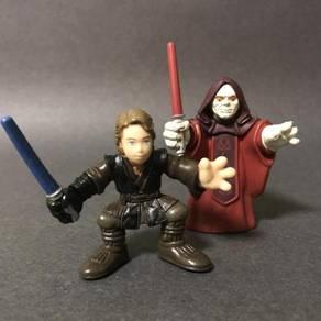 Hasbro Star Wars Emperor & Anakin Skywalker