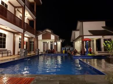 Homestay ala resort berdekatan wakaf che yeh