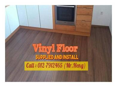 Quality PVC Vinyl Floor - With Install US35