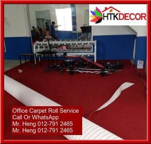 Modern Plain Design Carpet Roll With Install UJ49