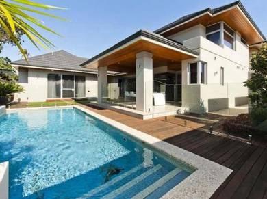 [REBATE 20%] 30x75 Luxury Hilltop Residence Double Storey house w Yard