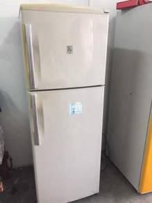 Sanyo 2 doors Peti Sejuk fridge Ais Refrigerator