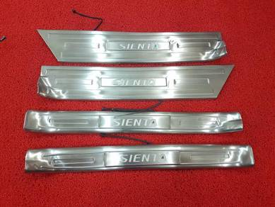 Toyota sienta led side door step side sill plate