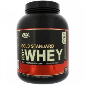 Optimum Nutrition On Gold Standard 100% Whey 5 Lbs