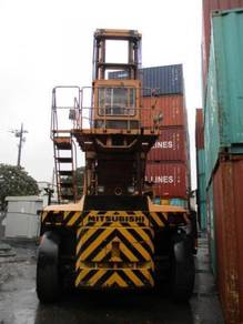 JAPAN MITSUBISHI 21 ton FD210 Spreader FORKLIFT