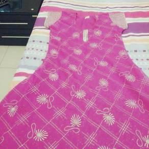 Indian long pink top