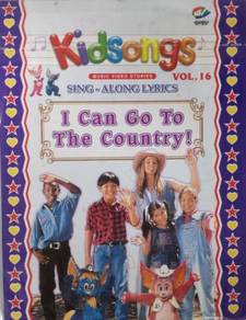 VCD Kidsongs Sing Along Lyrics I Can Go To The Cou