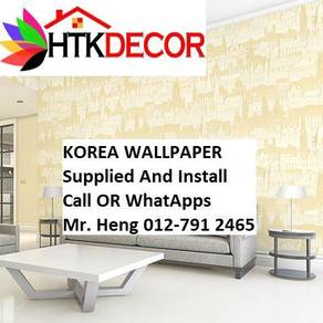 Beautiful In Wall paper with InstallationA913w