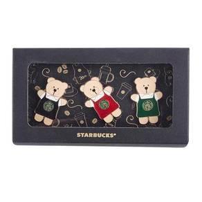 Starbucks Taiwan 20th Anniversary Bear Pin