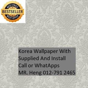 Install wall paper for your Office 27NM