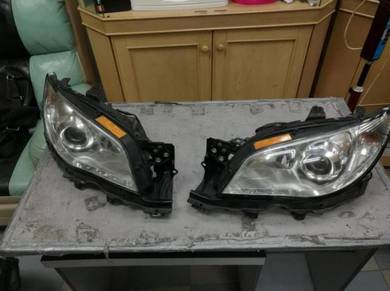 Subaru Impreza STI GDB Headlight V9 Head Light HID