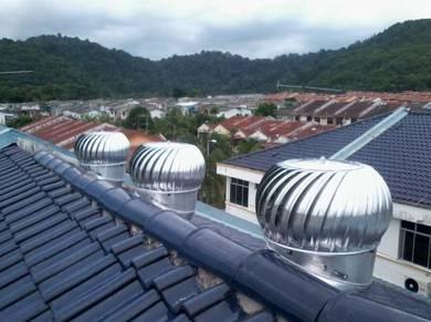 Turbine Ventilator and Free Pemasangan- Kedah,