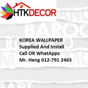 3D Korea Wall Paper with Installation G777W
