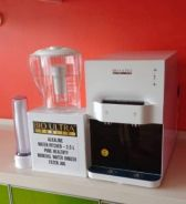 Penapis air Qierra Ionizer Water Filter Pitcher W2