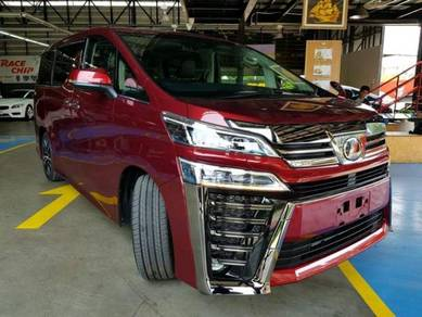 Toyota vellfire 2018 facelift conversion front kit