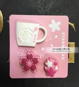 Starbucks Taiwan Sakura Magnet Set