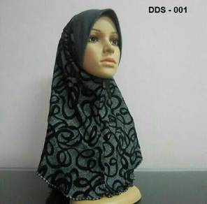 Tudung Denim Digital (Size S)
